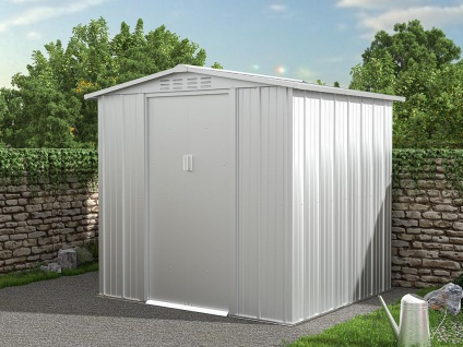 Gartenhaus Gerätehaus LINUS - Stahl - 3, 73 m²