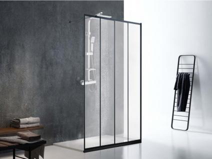Sparset Dusche: Duschtrennwand 120x200cm ATALIA & Duschsäule SALIMA