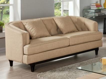 2-Sitzer-Sofa Stoff Elton - Beige