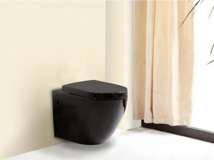 Wand WC Keramik Kenji - Schwarz