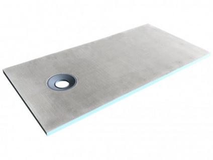 Duschwanne Duschtasse zur Selbstgestaltung mit Siphon DELOS - 1800x900x40mm