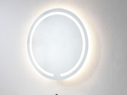 Spiegel mit LED-Beleuchtung NEREA - Durchmesser: 60cm