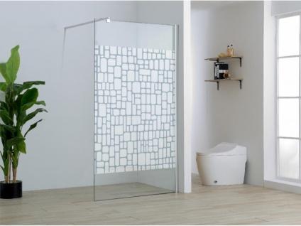 Duschtrennwand Seitenwand italienische Dusche Laura - 120x190 cm