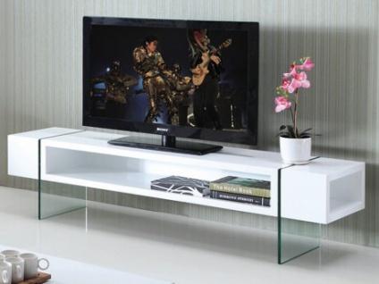 TV-Möbel Glas Hochglanz Brooke
