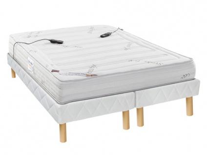 Massagematratzen Lattenrost Set MASSANT - 180 x 200 cm