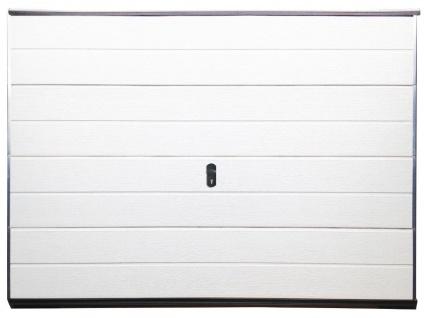 Sektionalgaragentor BALIDO - Weiß - Ohne Accessoires