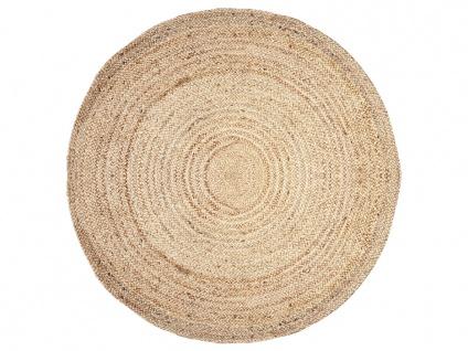 Teppich rund JAIPUR - 100% Jute - D. 150 cm