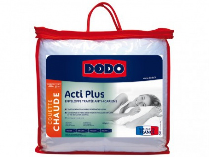 Bettdecke antiallergen ACTI PLUS von DODO - 140x200cm