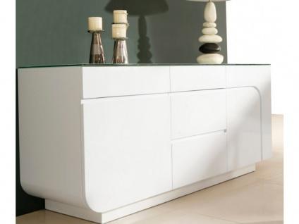 Sideboard Design Hochglanz Bend - Vorschau 2