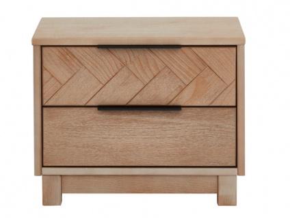 Nachttisch Holz MERIBEL - 2 Schubladen - Vorschau 4