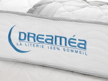 Kombination Untergestell + Taschenfederkern-Matratze Dicke: 20cm SONGE von DREAMEA - 140x190 - Vorschau 4