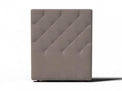 Kopfteil Für Bett kopfteil bett gepolstert enza - breite: 92 cm - taupe - kaufen bei