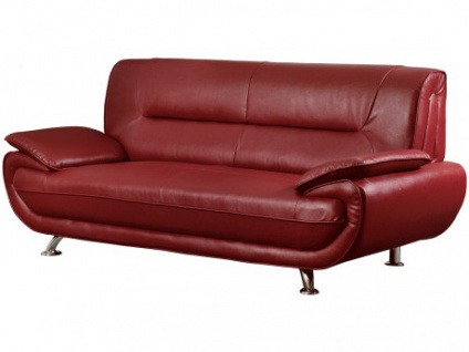 3-Sitzer-Sofa Nigel - Rot