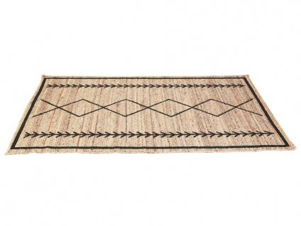Teppich Ethno-Stil BANGALORE - Jute - 160x230cm - Vorschau 5