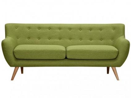 3-Sitzer-Sofa Stoff Serti - Grün
