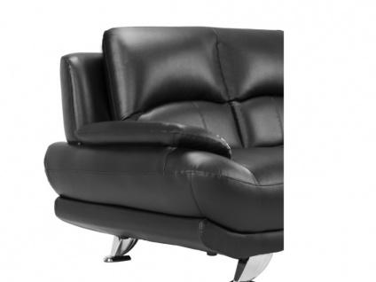 Sofa 2-Sitzer MUSKO - Schwarz - Vorschau 5