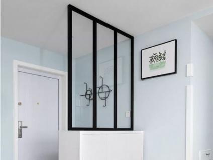 Atelier Glaswand Aluminium BAYVIEW - 90x130cm