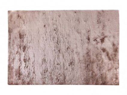 Hochflor-Teppich Dolce - Taupe - 160x230 cm