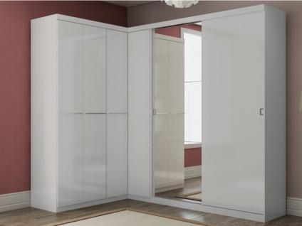 Kleiderschrank Alvin - 2 Türen - Vorschau 4