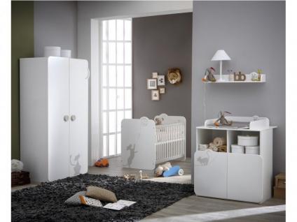 Babybett Kinderbett Catty - Weiß - Vorschau 3