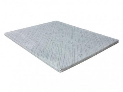 Visco-Matratzenauflage Topper Bambus - 80x200cm - Vorschau 1