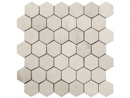 Mosaikfliesen SOENA - Marmor - Cremefarben - 1 Pack: 1 m²