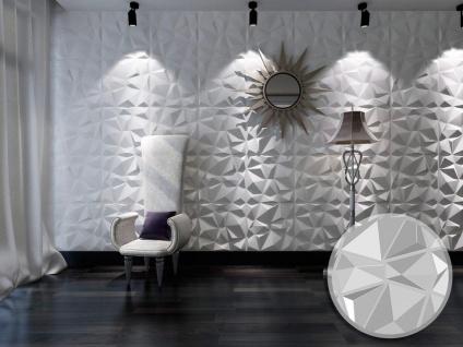 3D Wandpaneel Angly - 1 Pack: 3 m² - Set aus 12 Teilen