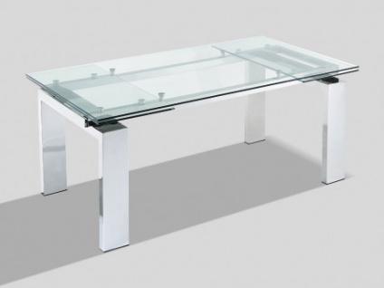 Esstisch Glas Lubana Ausziehbar Kaufen Bei Kauf Uniquede