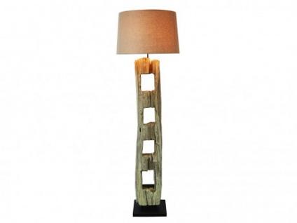 Stehleuchte Akazienholz ZELDA - Höhe: 175 cm