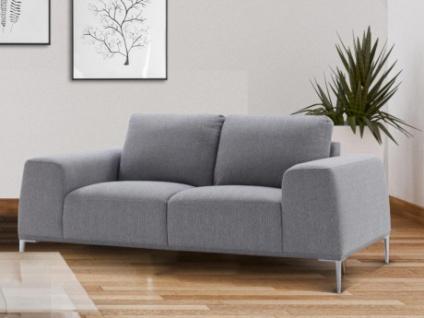 2-Sitzer-Sofa Stoff TIDIANE - Grau