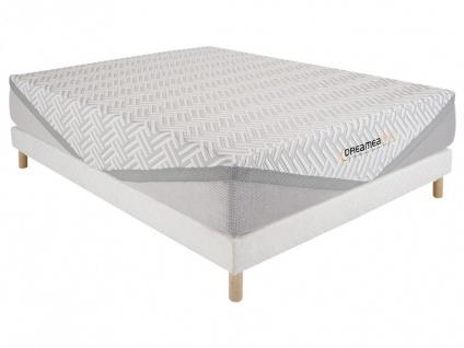 Matratzen Lattenrost Set mit Latex-Matratzenauflage EDEN - 140x190cm