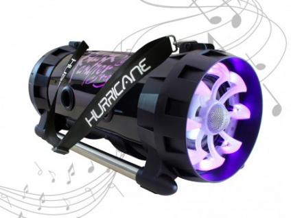 Karaoke Lautsprecher Anlage mobil HURRICAN von BLACK PANTHER