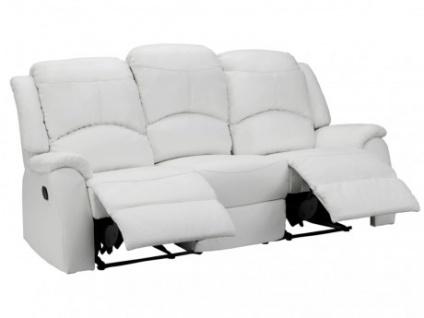 Relaxsofa 3-Sitzer Esther - Weiß