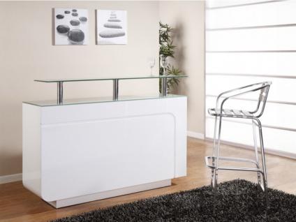 Hausbar Design Hochglanz Bend