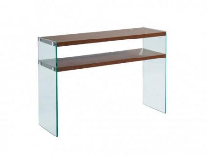 Wandkonsole Schreibtisch Glas HARRIET