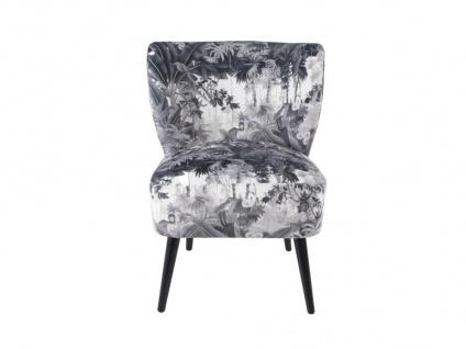 Sessel aus bedrucktem Stoff FOREST - Vorschau 1