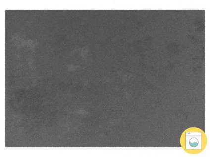 Teppich MILO - 100% Polyester - 120 x 170 cm - Anthrazit