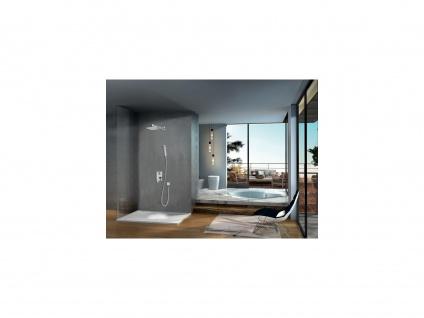 Duschsäule zum Einbauen DOMINA - Edelstahl verchromt