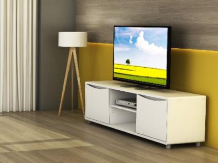 TV-Möbel Sorriso - Weiß