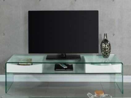TV-Möbel Glas ABBY