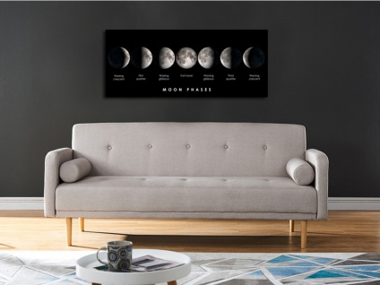 Kunstdruck auf Acrylglas MOONLIGHT - 160x60 cm