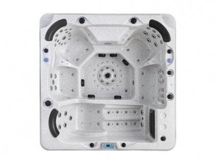 LED-Whirlpool Spa Ulysses - 4-6 Plätze - Grau