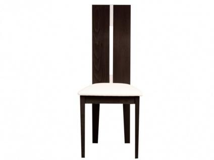 Stuhl 2er-Set Massivholz Salena - Wengefarben - Vorschau 4