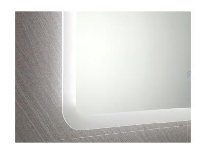 Spiegel mit LED-Beleuchtung ORBITEA - B70 x H50 cm - Vorschau 5