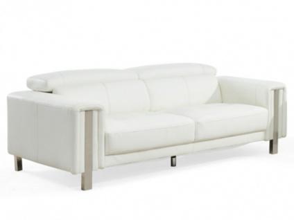 Sofa 3-sitzer Maroua - Weiß - Vorschau 4