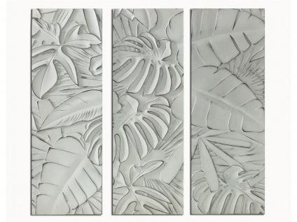 Bild 3-teilig Triptychon APIO - Holz - 39x90 cm