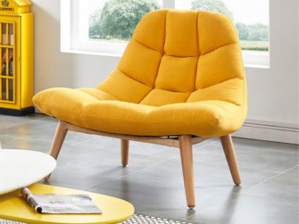 Lounge-Sessel Stoff Kribi - Gelb