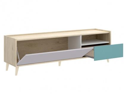 TV-Möbel BICA - 2 Türen - Mehrfarbig