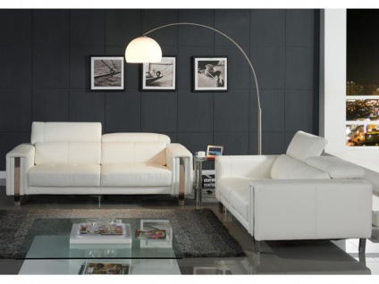 Couchgarnitur 3+2 MAROUA - Weiß - Vorschau 3