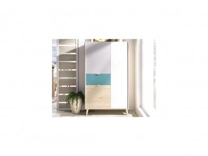 Vitrinenschrank BICA - 3 Türen & 1 Schublade - Mehrfarbig - Vorschau 4
